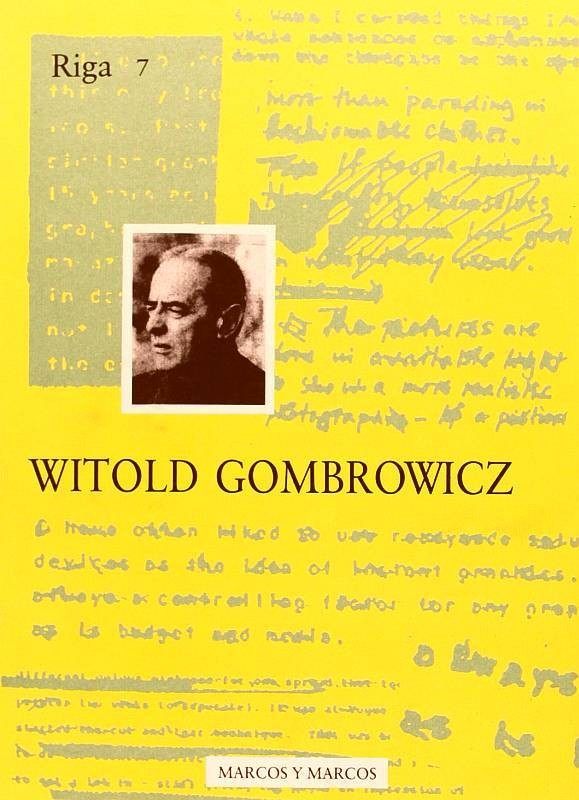 Riga 7 Witold Gombrowicz
